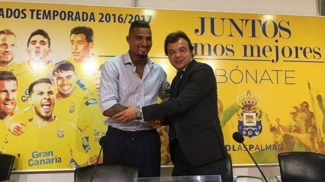 Kevin Prince Boateng, nuevo jugador de Las Palmas