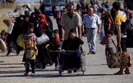La ONU teme que hasta 200.000 personas huyan de Mosul ante la intensificación de la ofensiva