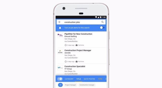 Google for jobs cerca feina