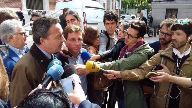 Henríquez de Luna y Martínez Almeida en La Ingobernable