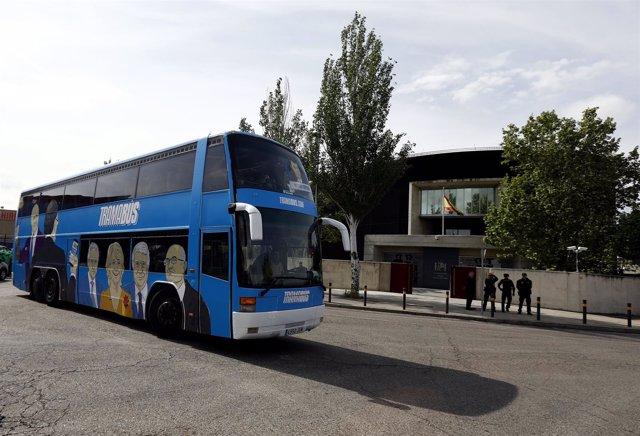 El tramabús de Podemos pasa por la Audiencia Nacional de San Fernando