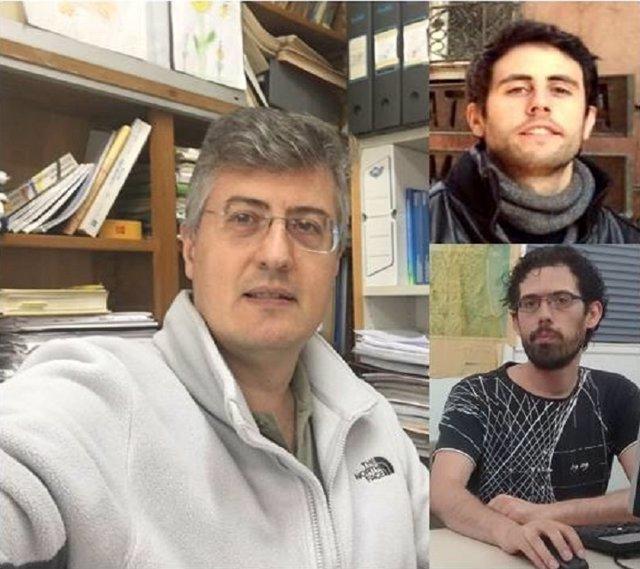 (Izquierda) Alberto Pérez Y (Derecha) Jacobo Guiu-Sout E Ignacio Vidal-Franco.