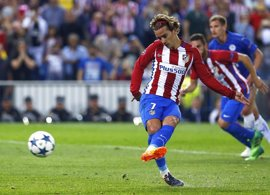 """Griezmann: """"Estoy muy a gusto en el Atlético"""""""