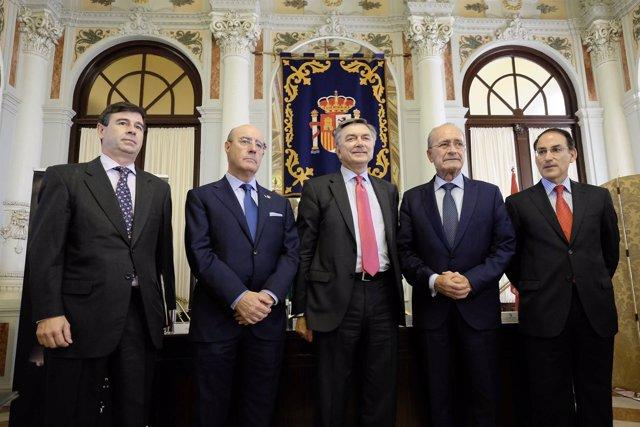 El embajador ruso Korchagin, De la Torre y González de Lara