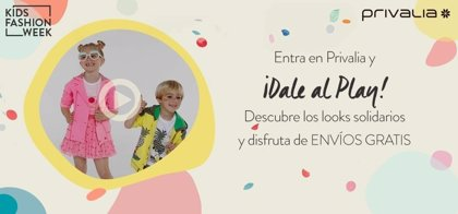 Privalia lanza la primera Kids Fashion Week
