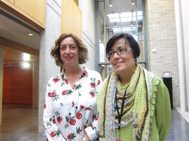 Patricia Luquin y Sofía Ciércoles