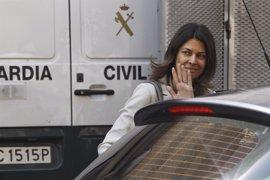 """Lucía Figar pide al juez Velasco que archive su imputación en la Púnica basada en """"conjeturas"""" de la UCO"""