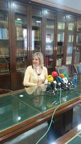 La fiscal superior de Andalucía, Ceuta y Melilla, Ana Tárrago