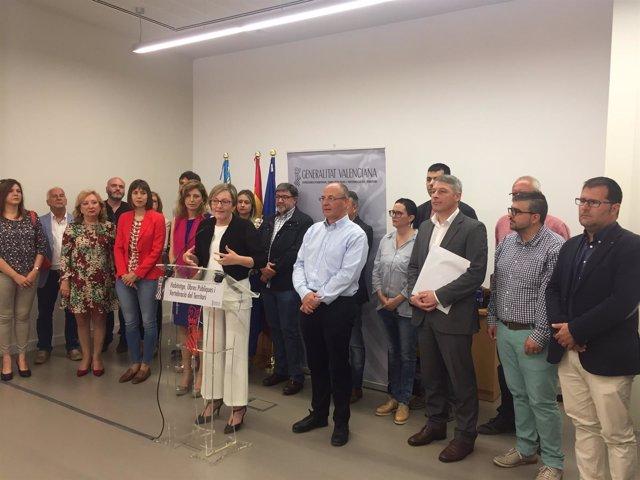 Salvador ha hablado sobre el tema en un acto con alcaldes de la Comunitat