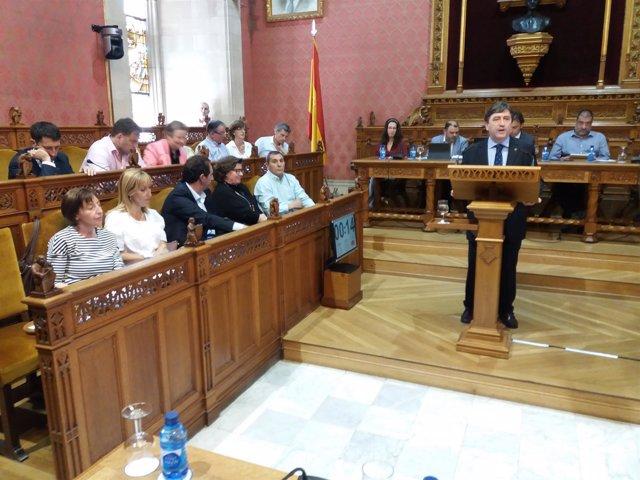 El PP en el Consell de Mallorca en el Debate de Política General