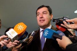 """Moreno destaca la """"defensa cerrada"""" de Gobierno de la línea Algeciras-Bobadilla, con 300 millones de inversión"""