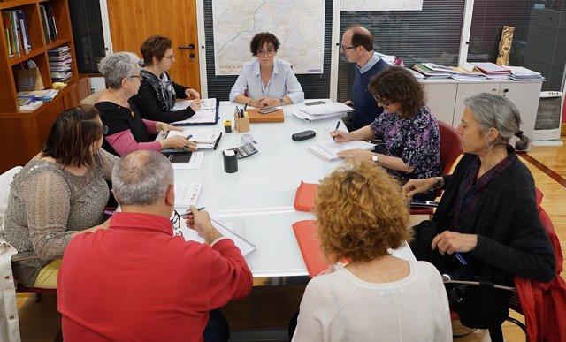 Reunión de la Mesa del Diálogo Social en Valladolid