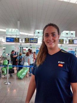 La Jugadora De La Selección Española De Waterpolo Maica García