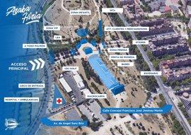 Música, bares, golf y zona infantil en la 'Araba Hiria' del Alavés para la final de Madrid
