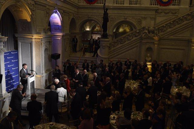 WASHINGTON, ESTADOS UNIDOS. 17 de mayo de 2017. El presidente Juan Manuel Santos