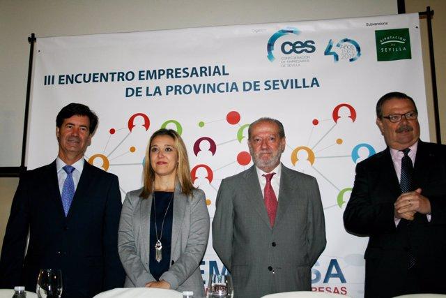 Inauguración del III Encuentro Empresarial de la Provincia de Sevilla