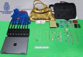La Policía Nacional detiene en Ciudad Real a dos personas como presuntas autoras de varios robos con fuerza