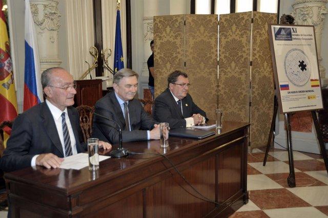 Foro para la paz mediterráneo ayuntamiento de la torre embajador korchagin vidal