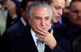 """El presidente de Brasil dice que sobrevivirá a nuevo escándalo y que es víctima de una """"conspiración"""""""