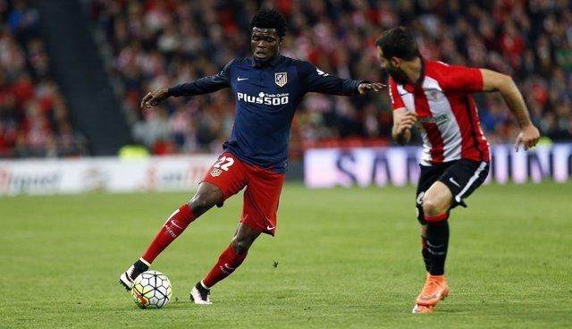 Thomas y Balenziaga en el Athletic Club - Atlético de Madrid