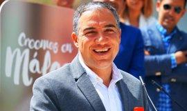 Elías Bendodo será reelegido presidente del PP de Málaga en un congreso provincial que se inicia este viernes