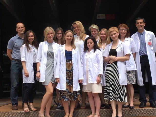 Delegación de la universidad polaca de Byalistok