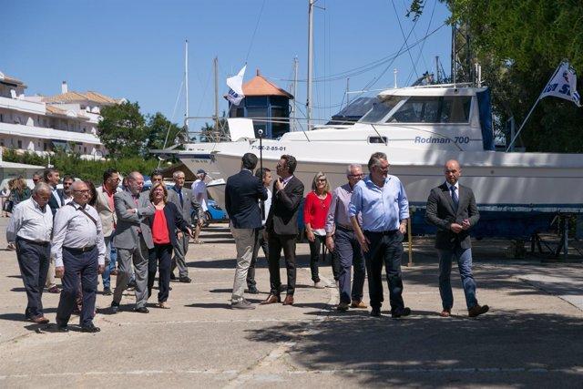 Feria del barco de Gelves.