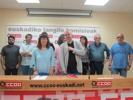 """Loli García: """"CCOO confrontará para defender a los trabajadores, pero buscará sentarse con la contraparte"""""""