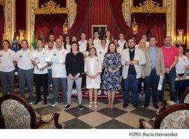 Irene García celebra que la Selección Española de Baloncesto Femenina se concentre en la provincia de Cádiz