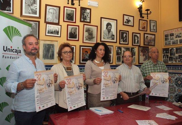 Presentación de la XXXII Semana de Estudios Flamencos.