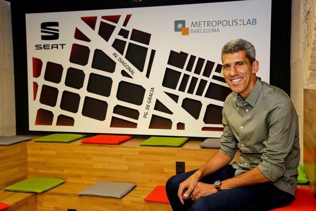 Jose Nascimento, responsable del Seat Metropolis:Lab Barcelona