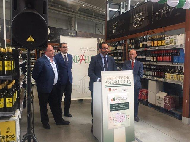 Alimentos andaluces se promocionan en más de 40 centros de Grupo Miquel.