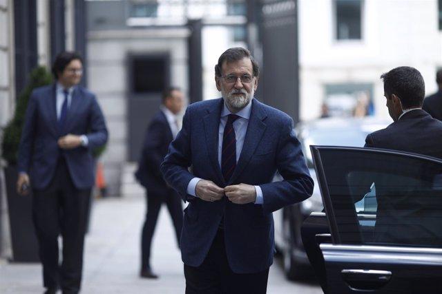 Mariano Rajoy llega al Congreo