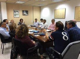 El grupo de trabajo del Prat de Sant Jordi se reúne por primera vez para minimizar riesgos por inundaciones en la zona