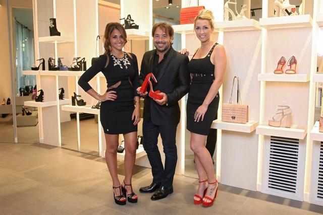 Inauguración de la tienda de Sarkany en Barcelona