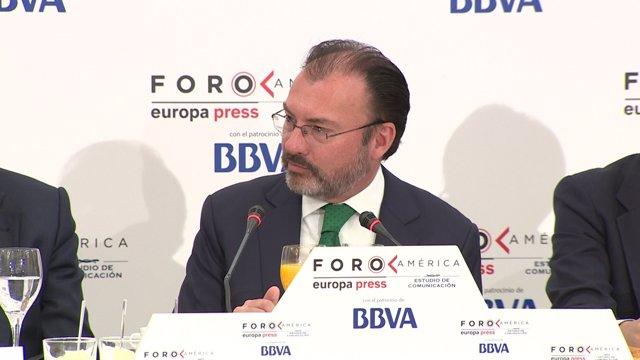 Videgaray destaca el papel de México en TLCAN
