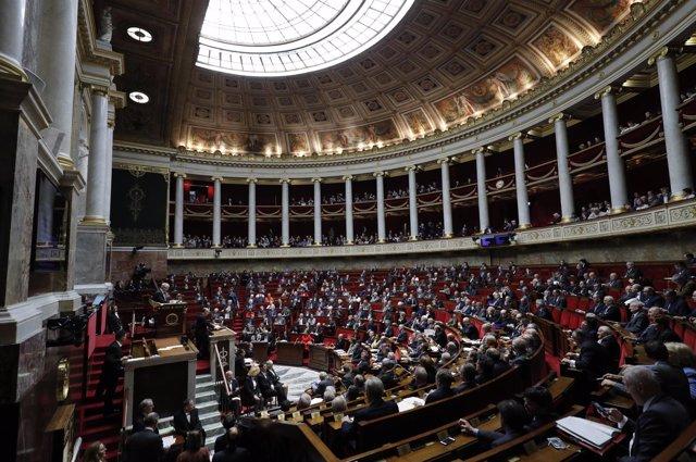 Hemiciclo de la Asamblea Nacional francesa