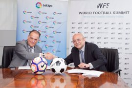 LaLiga 'ficha' por World Football Summit, el mayor evento mundial de la industria del fútbol