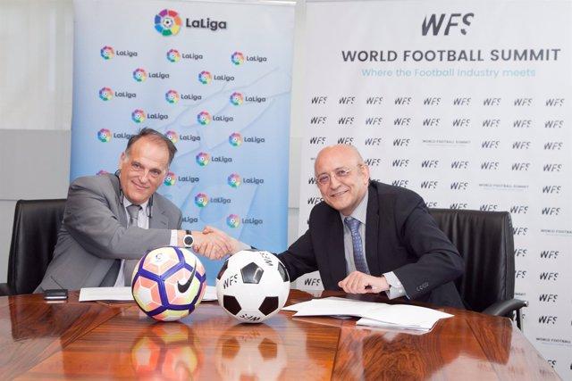LaLiga firma un acuerdo con World Football Submit
