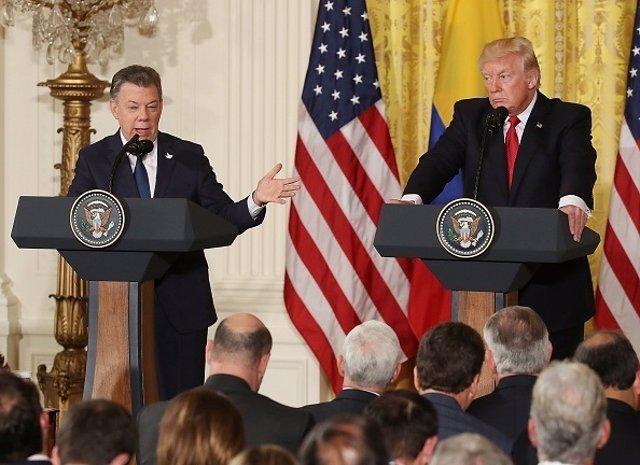 Santos y Trump