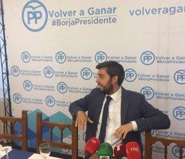 """García Carvajal tiende """"la mano"""" a Carnero para trabajar """"todos unidos"""" por los principios y valores del PP"""