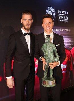 Ander Herrera, 'Jugador del año' para los aficionados del United