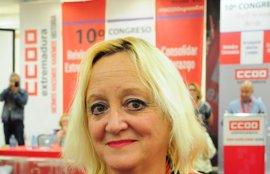 Encarna Chacón, nueva secretaria general de CCOO de Extremadura con el 51% de los votos