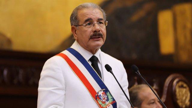 El presidente dominicano, Danilo Medina