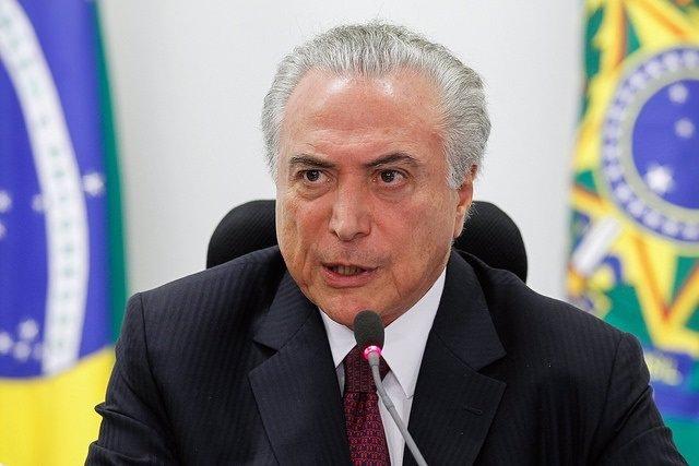 El president del Brasil, Michel Temer