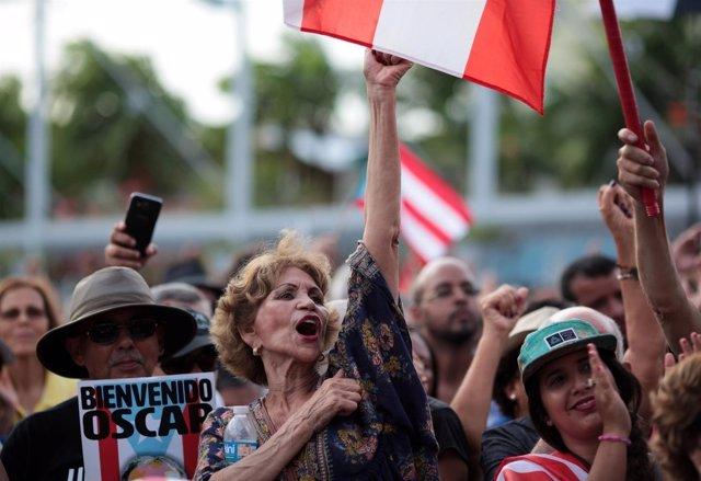 Puerto Rico recibe a López Rivera