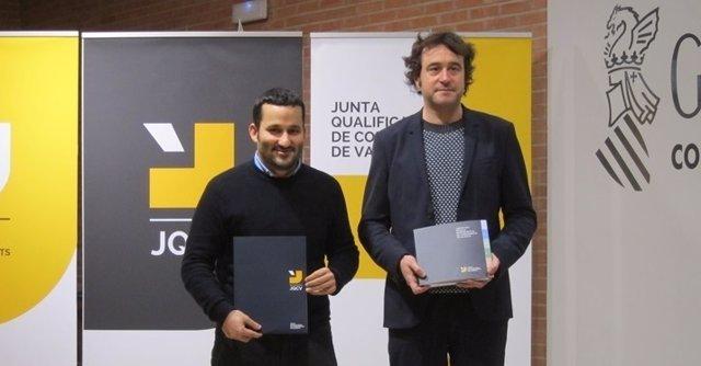 Vicent Marzà y Rubén Trenzano en una imagen de archivo