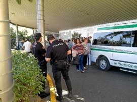 Dos detenidos por el atraco a un joven en un ascensor del Hospital Torrecárdenas de Almería