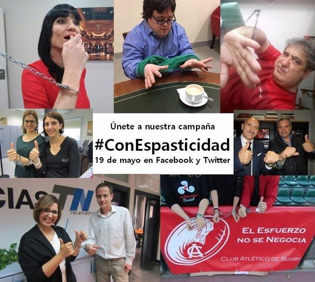 Campaña de concienciación #ConEspasticidad