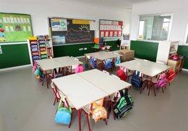 Educación reduce a 23 alumnos la ratio máxima en las aulas de 3 años en 30 municipios